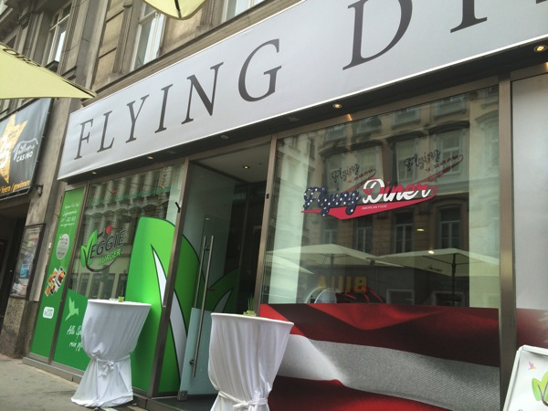 Flying Diner versus I love Veggie