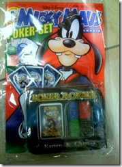 Micky Maus Poker-Set