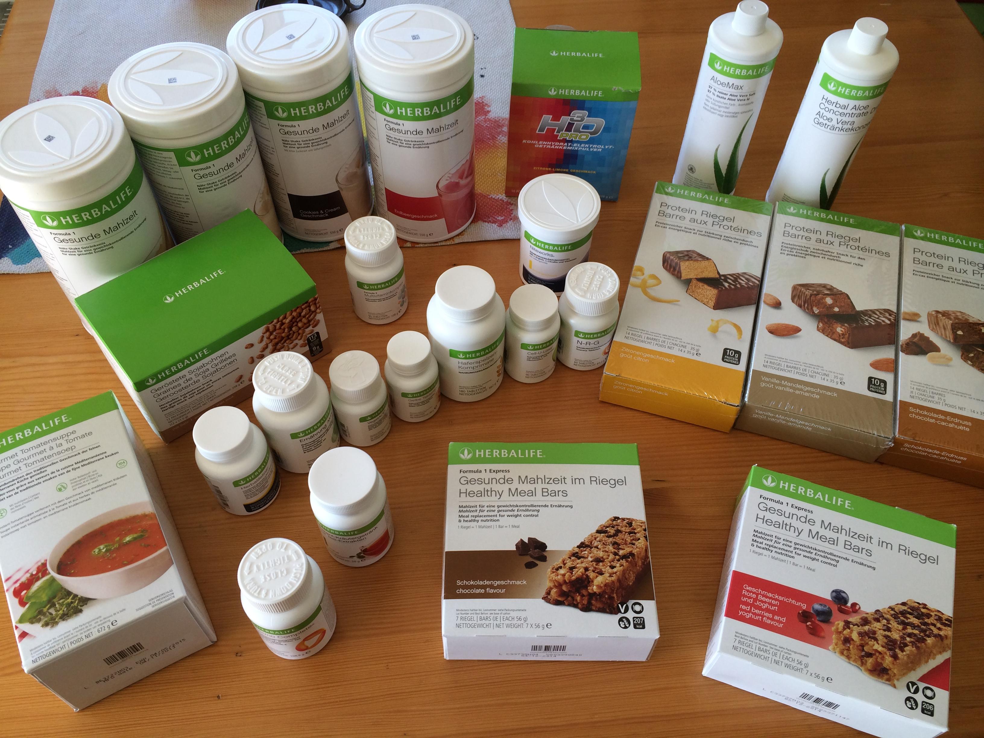 Was sind Herbalife Pillen zur Gewichtsreduktion